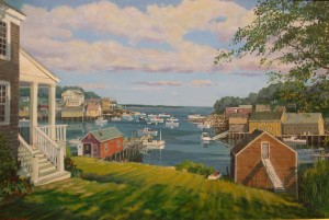 HEAD OF THE HARBOR 24 X 36